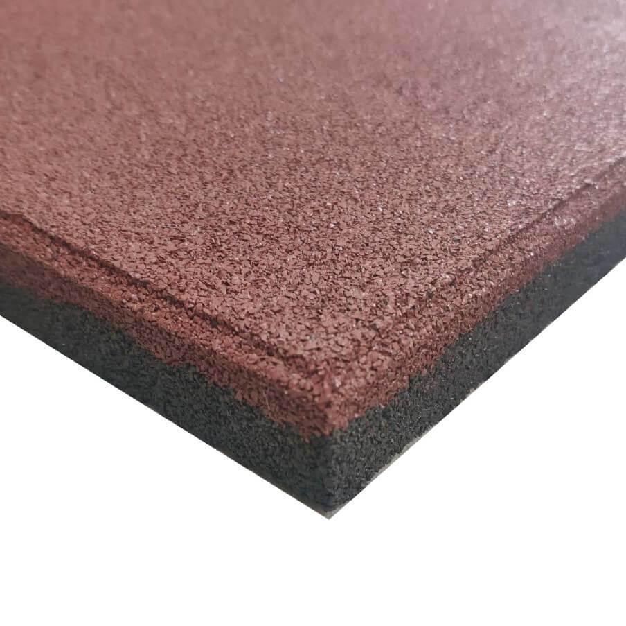 Shockproof rubber tile