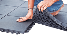 Anti fatigue and anti slip mat