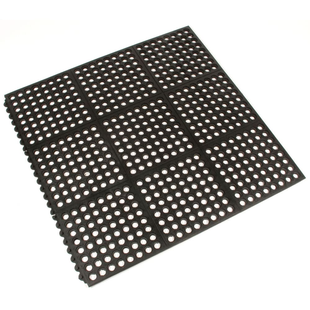 Anti fatigue rubber matting
