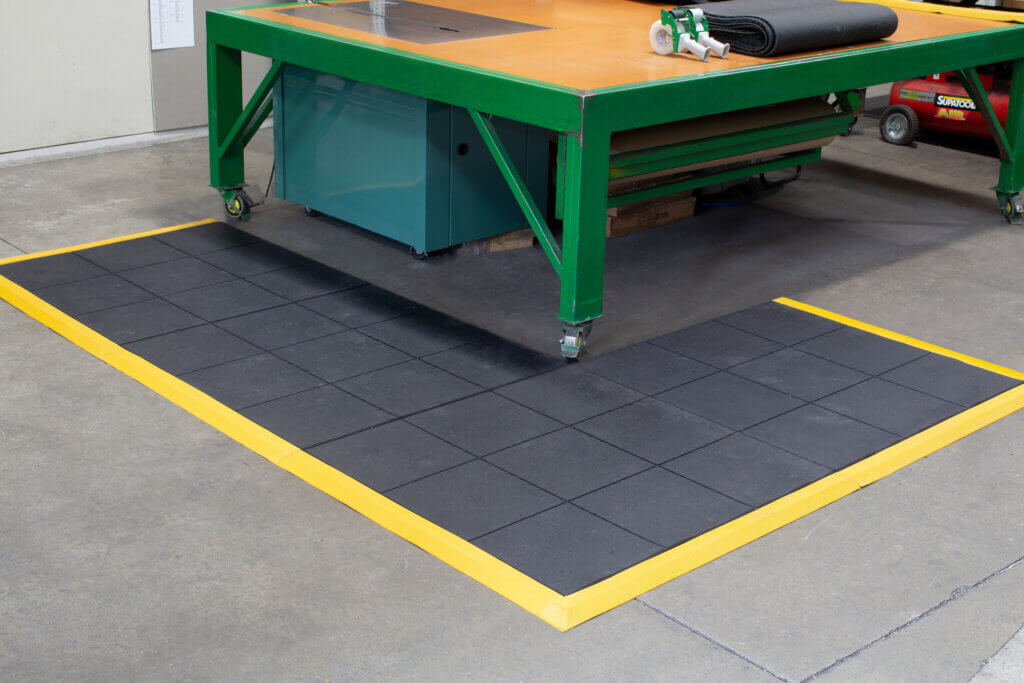 rubber matting for workplace
