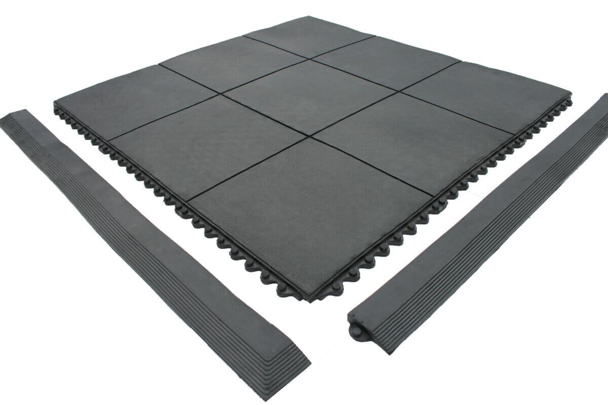 solidtop matting with black ramp edge