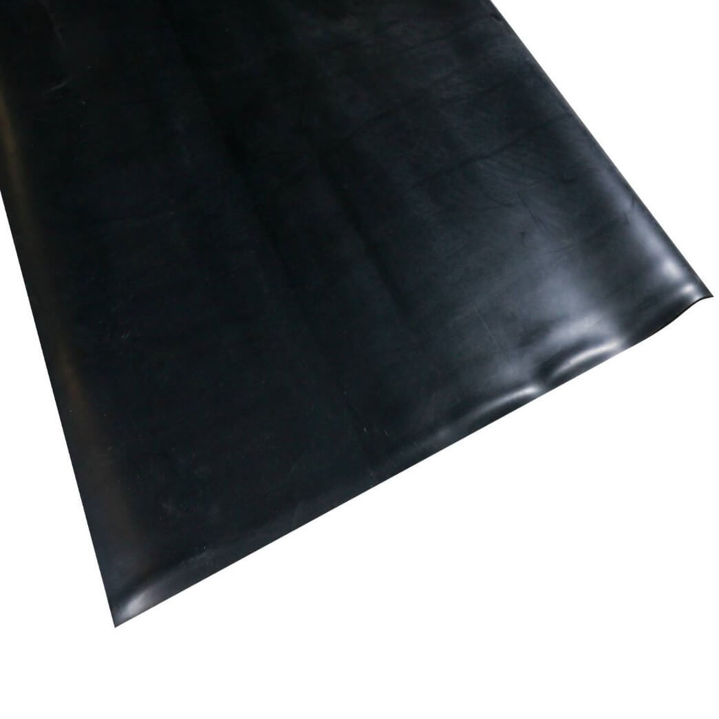 Smooth rubber roll